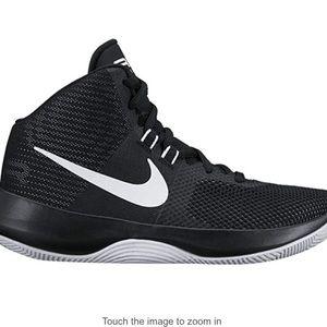 Nike Women's Air Precision Black White Shoes